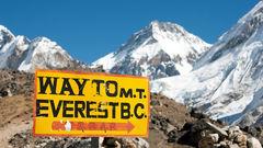 I oktober är det fortfarande perfekt väder för vandringsturer i Nepal.