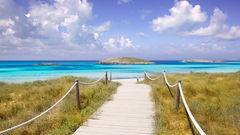 Playa Illetes är Medelhavets paradis.