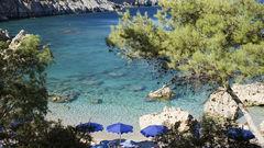 Hitta din egna drömstrand i Grekland.