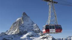 Zermatt i Schweiz.