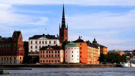 Riddarholmen i Stockholm.
