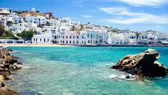 Mykonos på Grekland.