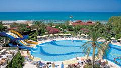 Hotel Terrace Beach Resort i Side.