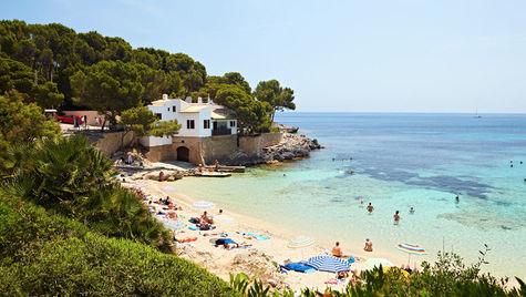Cala Ratjada på Mallorca.