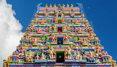 Seychellernas enda Hindu-tempel, Arulmigu Navasakti Vinayagar.
