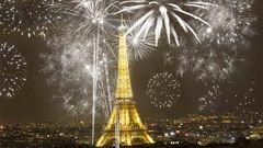 Nyår i Paris.