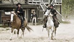 Cowboys i Vilda Västern.