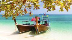 Koh Lanta är ett turkost paradis.
