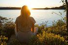 Vid en stilla sjö i Värmland