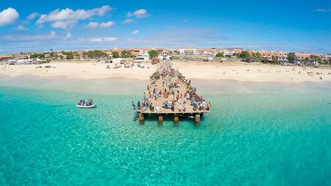 Kap Verde är ett solsäkert badparadis.