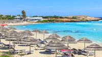 Sommar redan i vår på Cypern