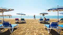 I Larnaca finns det gott om cypriotisk charm och badmöjligheter.