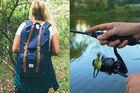 Vandra och fiska i Halle- och Hunneberg
