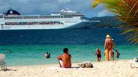 kryssning, karibien, seychellerna