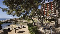 Det 5-stjärniga hotellet Melia de Mar har en egen strand på Mallorca.