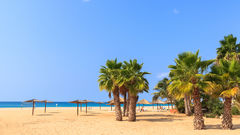 Boavista lockar också med långa och paradislika stränder.