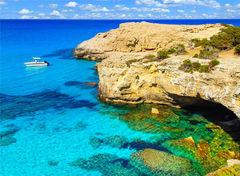 Den blå lagunen, Cypern.