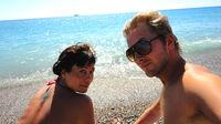Sista chansen till sol vid Medelhavet