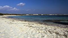 Nissi Beach är kanske Ayia Napas finaste strand.