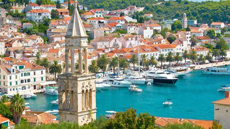 Ön Hvar, Kroatien.