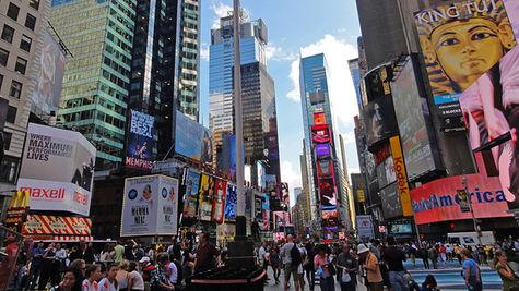 New York är hetaste staden 2011.