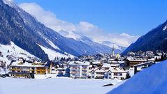 Ischgl i Österrike.