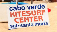 Kap Verdes vindar är perfekta för kite- och vindsurfing.