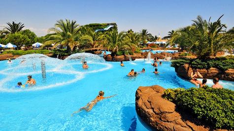 Härlig pool på Club Ali Bey Belek.