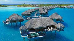 Four Seasons på Bora Bora.