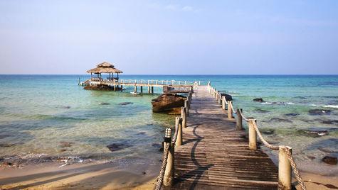 I november är det varmt och skönt i Thailand.