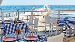 Elias Beach Hotel i Limassol.