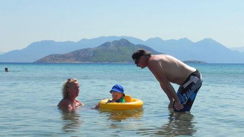 På Egina har man allt man kan önska av en semester.