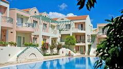 Lägenhetshotellet Lotus på Kreta.