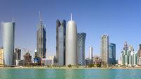 Ökensemester i heta Qatar