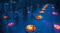 Vackra vinterhotell i Norden