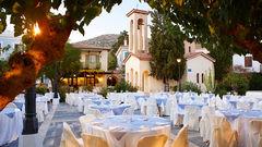 Mysiga Blue Village Doryssa på Samos.