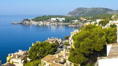Mallorca har runt 22 grader i juni.