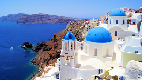 Vackra Santorini är en bra utgångspunkt.
