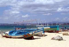 En av de bästa stränderna i Tunisien, Hammamet.