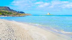 La Pelosa på Sardinien får dig att vilja komma tillbaka, om och om igen.