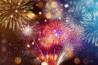 Fira in det nya året i Motala