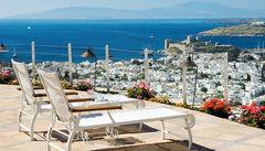 På hotellet Marmara Bodrum får du en fantastisk utsikt över Bodrum stad & marina.