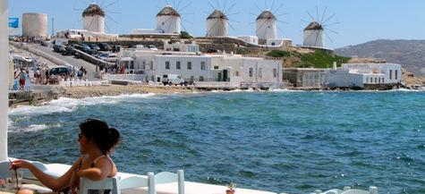 Mykonos i grekiska ö-världen.