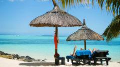 Stranden utanför Paradis Hotel & Golf Club.