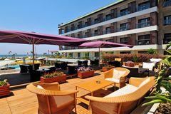På Hotell Sensimar Side Resort & Spa kan du njuta av spabehandlingar.
