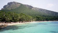 Formentor är klart den vackraste stranden.