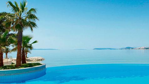 I Split kan du bo på vackra Le Meridien Lav.