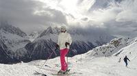 Alperna på egen hand med flyg och hotell