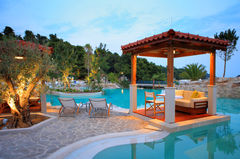 På Hotel Amfora Hvar Grand Beach Resort kan du njuta ordentligt.