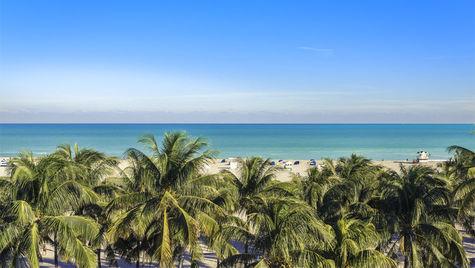 I Florida är det hett i maj månad.
